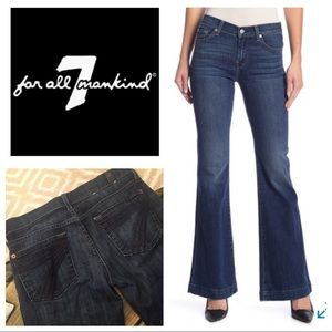 Dojo Flare 7 For All Mankind Jeans